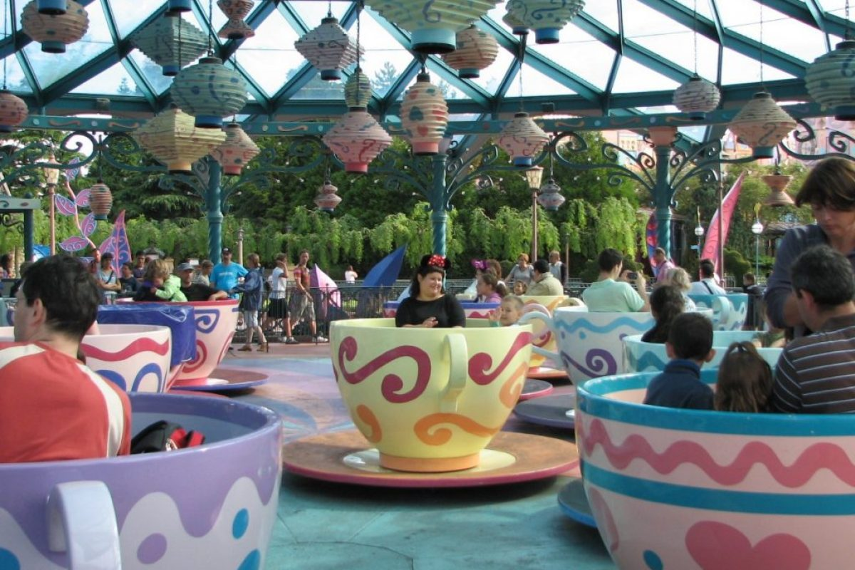 Disneyland Paris - filizanki